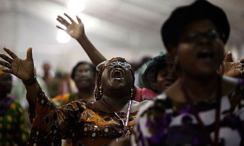 A Nigerian pentecostal church